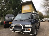 Rust Free MITSUBISHI DELICA POP TOP NEW CONVERSION 4 BERTH CAMPERVAN 4WD AUTO 2.5 TD 5 Seater