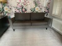 Conran Reynolds (Marks and Spencer) Sofa in gunmetal