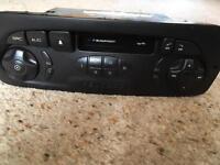 Genuine Peugeot stereo radio cassette
