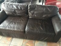Sofas for sale. Clearance going cheap genuin leather
