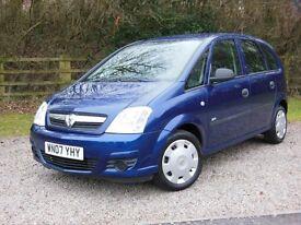 2007 Vauxhall Meriva 1.4 Petrol - 65,000 Miles!!