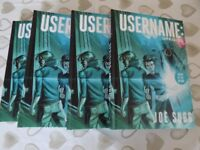 1 x copy Username: Uprising Signed Graphic Novel Book By Joe Sugg SIGNED