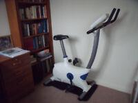 Ellectric powered Reebok Edge fitness bike