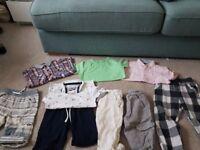 Boys summer bundle age 4