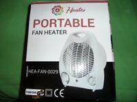 fan heater - portable