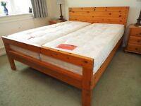2 Sweet Dreams Sleepzone Single Bed Mattresses - hardly used