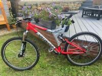 Specialized Stumpjumper FSR Full suspension bike