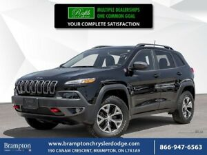 2017 Jeep Cherokee TRAILHAWK 4X4 | EX CHRYSLER COMPANY DEMO