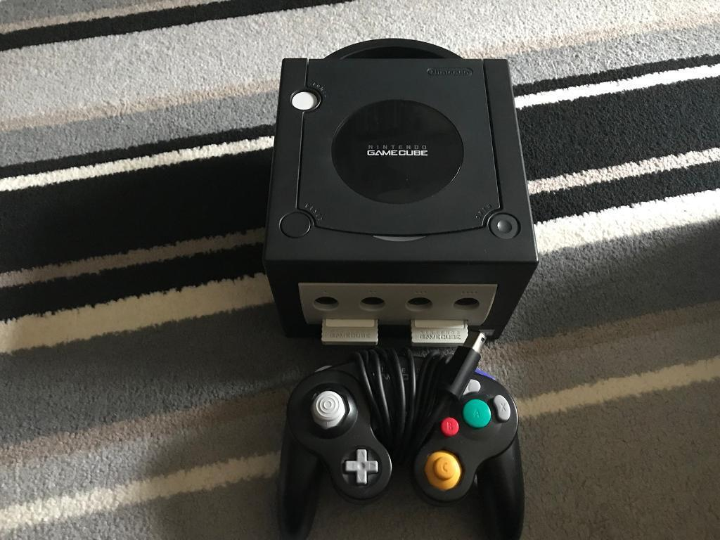 Nintendo GameCube with 9 games
