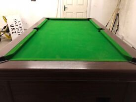 Supreme pool table full-size pub one excellent condition
