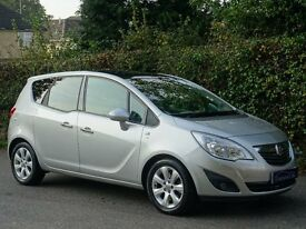 2012 (61) Vauxhall Meriva 1.7 CDTi 16v SE 5dr - DIESEL - AUTOMATIC GEARBOX - 17,000 MILES