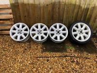 Mini Cooper S alloy wheels