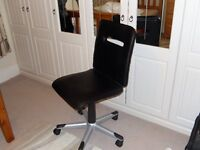 Black swivel chair for sale
