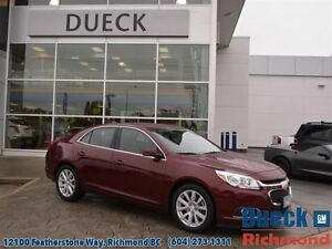 2015 Chevrolet Malibu 3LT  Accident Free, BC Vehicle, ONE Owner