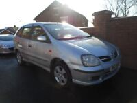 2005 nissan almera tino{excellent spec,value,choice of 2,sunroof,reverse camera}climate}