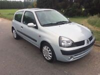 2003 RENAULT CLIO 1.5 D.C.i # 1 OWNER FROM NEW # £30 A YEAR TAX # FULL YEARS MOT # GENUINE LOW MILES