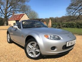 2006 Mazda MX5 *Watch Video* Recent MOT and Service with NO advisories Bluetooth Mk3 MX-5 Good Tyres
