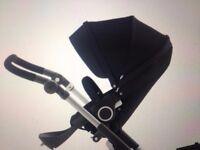 New Stokke stroller seat black FIT Stokke Xplory, Crusi, Trailz Seat