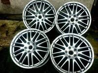 22 inch 5x130 Porsche Cayenn, Audi Q7, Volkswagen Tuareg alloys wheels