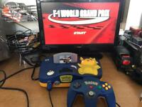 N64 Nintendo 64 Pikachu pokemon Console