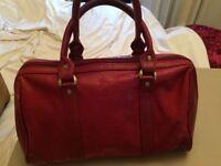 GIGI red leather handbag