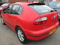 SEAT LEON 1.6 S 5dr (red) 2003