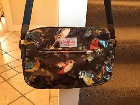 Catch Kidston oilcloth cross body bag with bird print