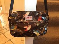 Catch Kidston oilcloth cross body bag with bird print