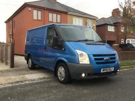 2011 61 FORD TRANSIT TREND 115 T260 63K FSH **NO VAT** VISION BLUE IMMACULATE
