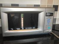 Matsui 800W silver microwave - excellent condition