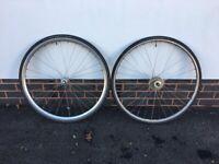 Vintage mixed road bike wheel set - FiR/MAVIC