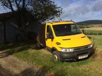 Iveco tipper for spares or repairs