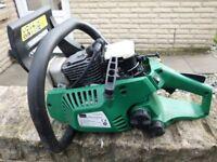 gardenline petrol chainsaw ( power unit only )