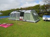 Outwell 6 tent plus trailer & various canping equipment