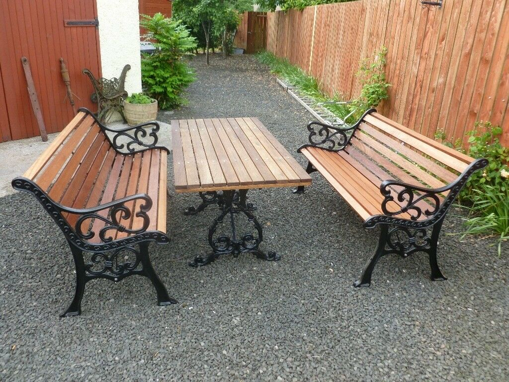 Refurbished Garden Benches Table In Perth Perth And