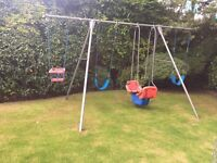 TP - children's 4 piece Garden Swing set