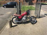Suzuki gn 250cc Red '93 model