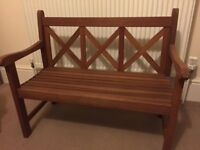 Kids Wooden Garden Bench