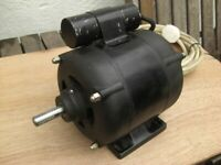 A/C Electric motor made by Hoover.