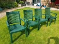 Good quality stacking outdoor chairs