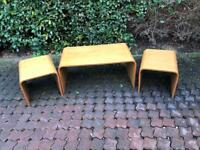 Vintage Danish G-Plan Coffee Table And Two Sides