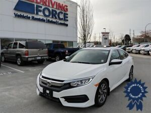 2016 Honda Civic EX 5 Passenger Front Wheel Drive, Backup Camera