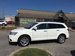 2017 Dodge Journey GT/7 PASSENGER/AWD/LEATHER/19 RIMS