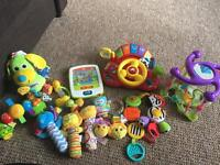 Lots of baby toys