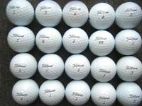20 Titleist PROV1s in very good condition