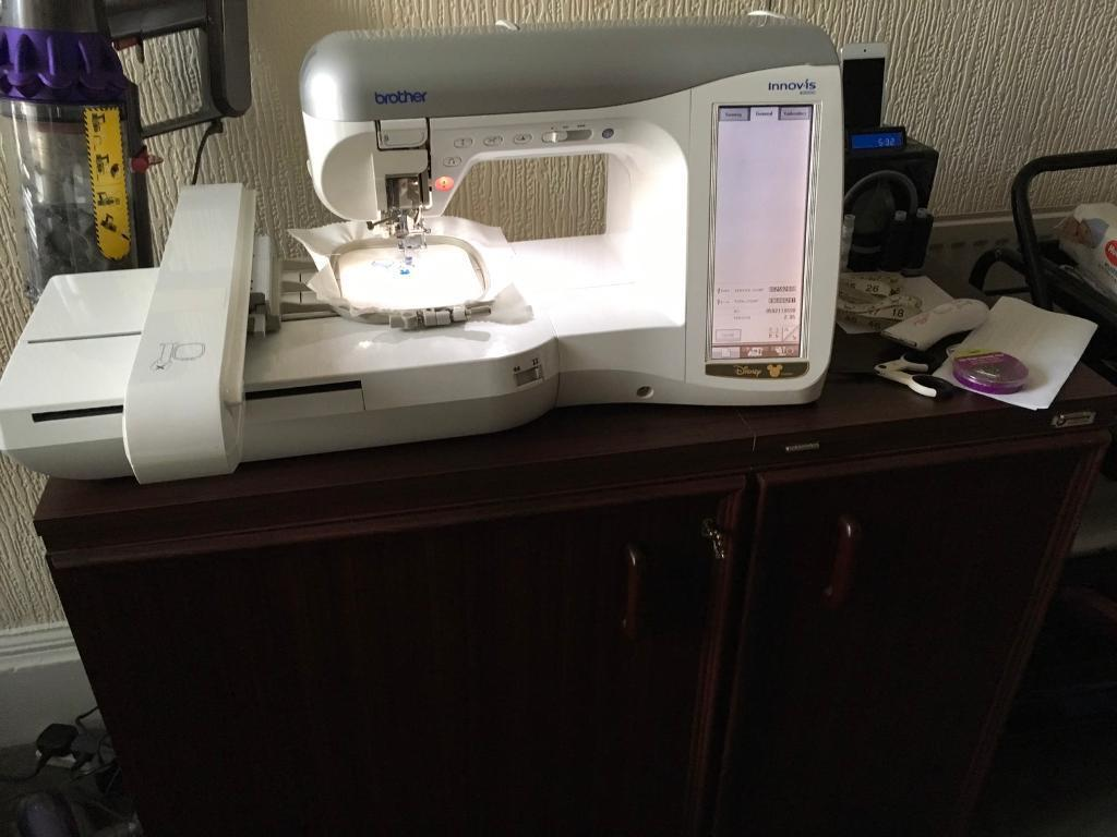 Brother Innovis 4000d Sewing Embroidery Machine