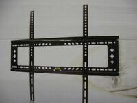 TV WALL BRACKET FIXED FLUSH MOUNT 42 to 80 inch TV (100's in stock)