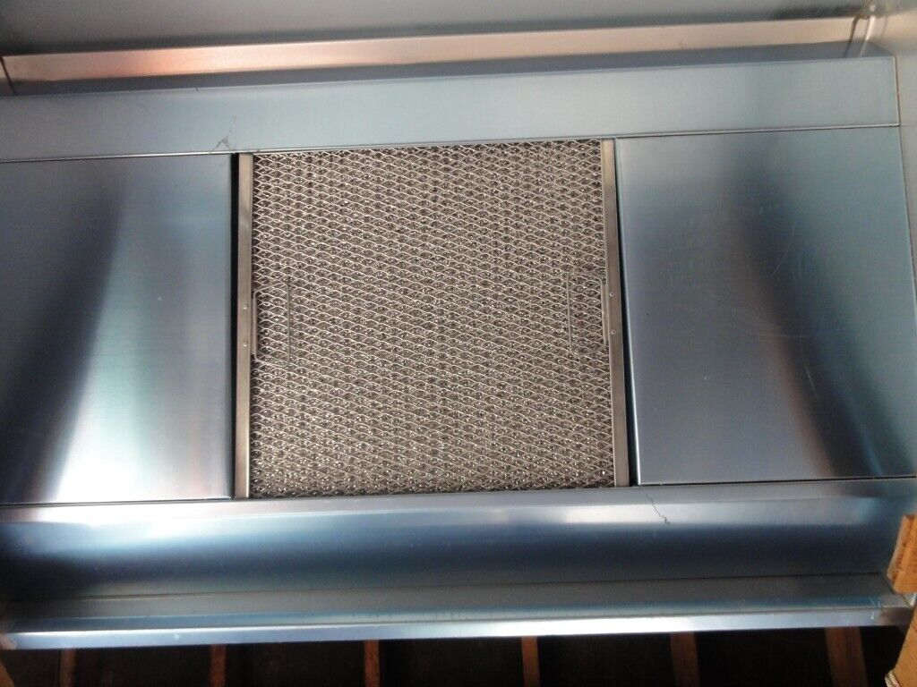 Extractor hood with one removable grease filter, Stainless not used, uncut,  no fan  | in Bournemouth, Dorset | Gumtree
