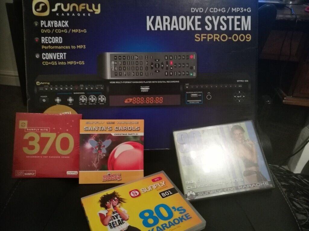 Sunfly Karaoke Machine | in Seaford, East Sussex | Gumtree