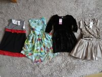 GIRLS AGE 6 DRESS BUNDLE x 4.